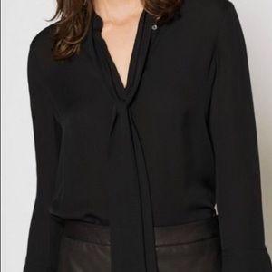 Joie Nadal silk blouse.